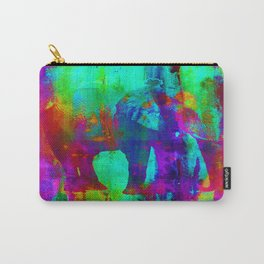 Watercolour Elephant QQ Carry-All Pouch