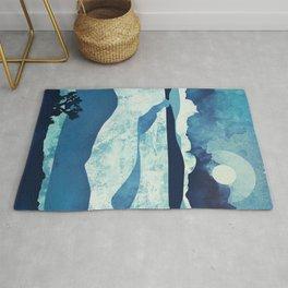 Blue Desert Rug