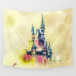 Castle in the Clouds Wall Tapestry