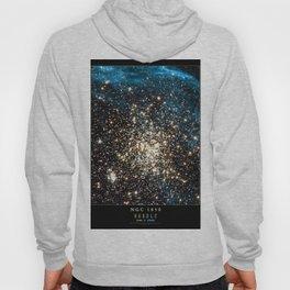 NASA Hubble Space Telescope Poster - NGC 1850 Hoody