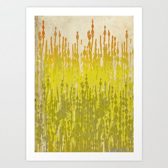 drip drops Art Print