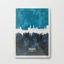 Toulouse Skyline France Metal Print