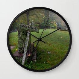 Ward D Wall Clock