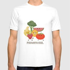 Fruity Mens Fitted Tee White MEDIUM