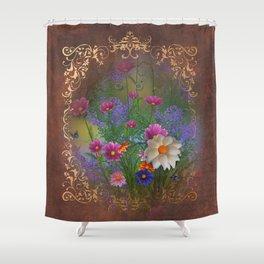 English Tea Garden Shower Curtain