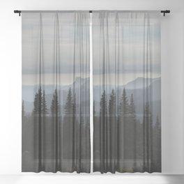 Forest Alpine Sheer Curtain