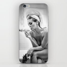 The French Inhale iPhone Skin