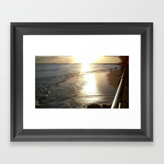 Ocean Beauty Framed Art Print