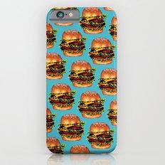 Cheeseburger Pattern Slim Case iPhone 6