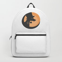 Doberman #society6 #decor #buyart #artprint Backpack