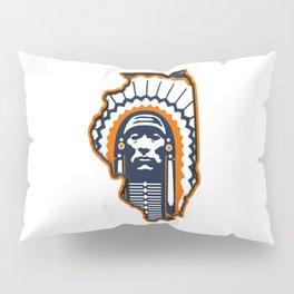 Fighting Illini Football Merch Pillow Sham