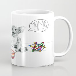 Bored baby Sphynx Coffee Mug