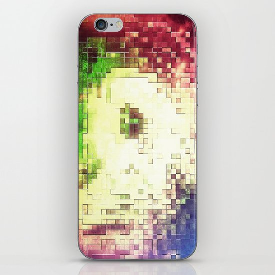 PIXEL NEBULA iPhone & iPod Skin