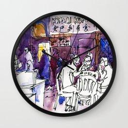 20160619 Kluang Kedai Kopi PKH Wall Clock
