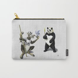 Donkey Xote and Sancho Panda (Wordless) Carry-All Pouch