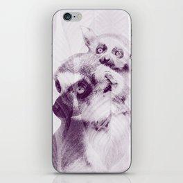 Happy Mother's Day - Lemur - maki catta iPhone Skin