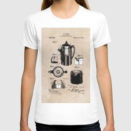 patent China Coffee pot - Blanke - 1909 T-shirt