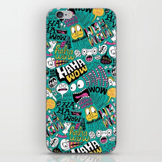 Haha wow. iPhone & iPod Skin