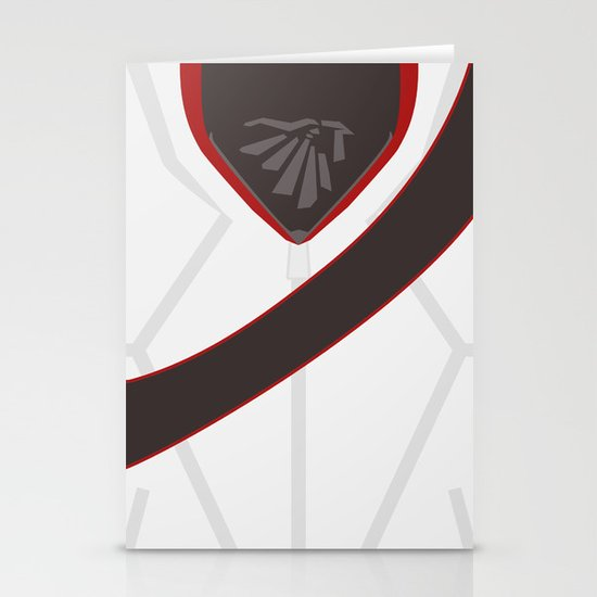 Desmond Miles Stationery Cards