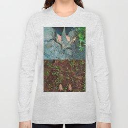 Destressed Long Sleeve T-shirt