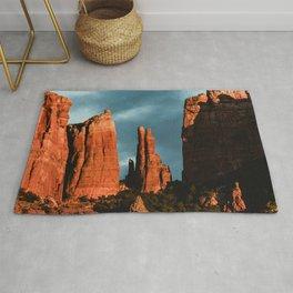 Sedona Vortex - Chimney Rock Desert Photography Rug
