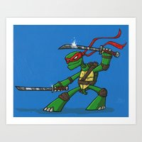 leonardo Art Prints featuring Leonardo by Joe Havasy