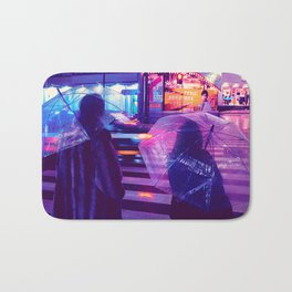 Tokyo Nights / The Crossing / Liam Wong Bath Mat