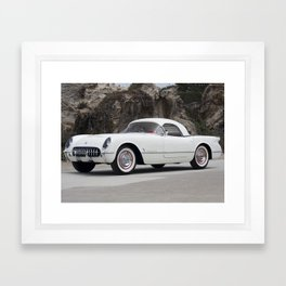 1955 Corvette Framed Art Print