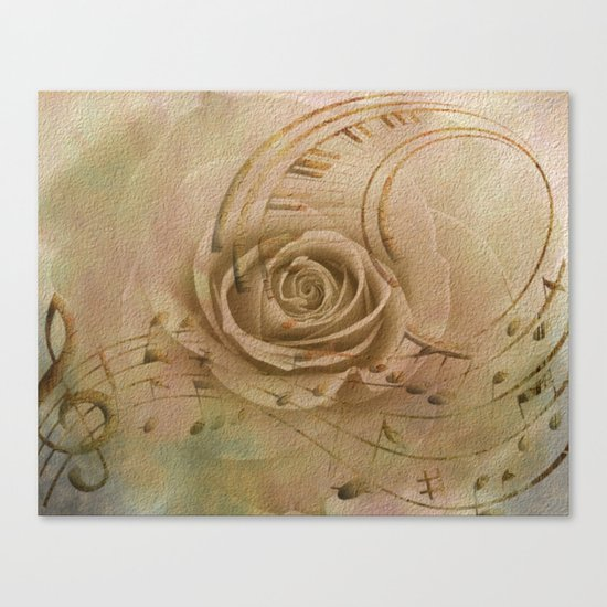 Timeless Love Abstract Canvas Print