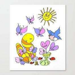 """Love Brings"" Canvas Print"