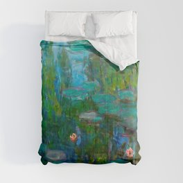 Water Lilies by Monet Comforters