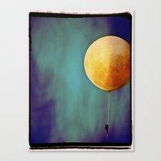 Tethered Moon Canvas Print