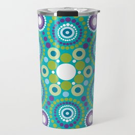 Mandala lots flower Travel Mug