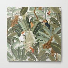 Amazon Palm Metal Print
