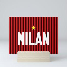 I Rossoneri Milano Mini Art Print