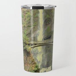 MULTNOMAH FALLS - OREGON Travel Mug