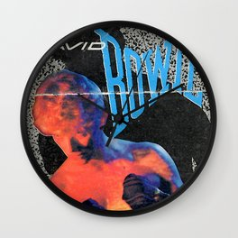 Bowie Concert Ticket Wall Clock