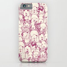 just alpacas cherry pearl Slim Case iPhone 6s
