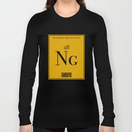 Periodic Table of Nuggets Long Sleeve T-shirt