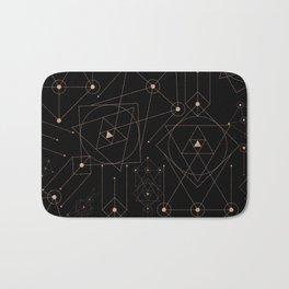 celestial pattern design Bath Mat
