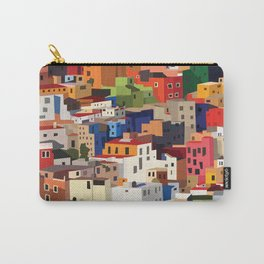 Mexico historical town cityscape (Guanajuato) Carry-All Pouch