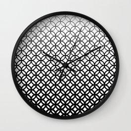 Halftone I Wall Clock