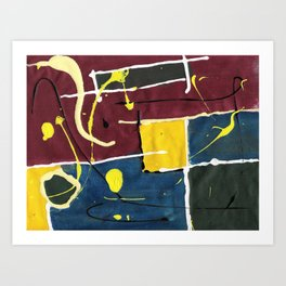 Getting Boxy With It Art Print