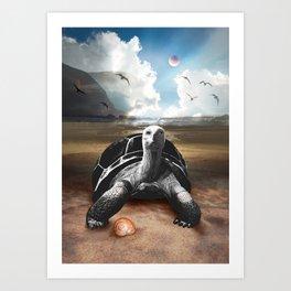 Planet Earth 001 Art Print