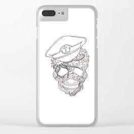Captain Ocean Clear iPhone Case
