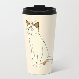 Meowth Travel Mug