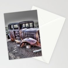 Rusting in the desert Stationery Cards