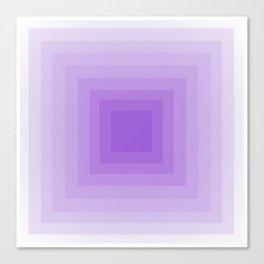 Lavender Monochrome Canvas Print