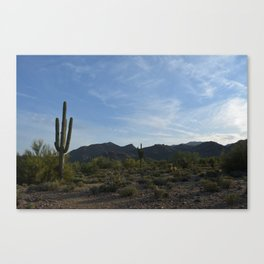 White Tank Mountain Canvas Print