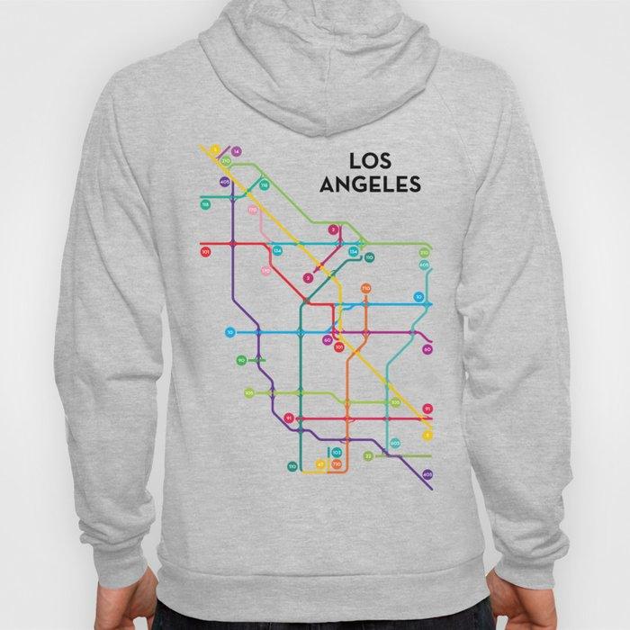 Los Angeles Freeway System Hoody